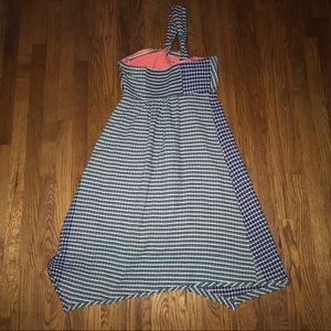 Anthropologie Dresses - Maeve Anthropologie One Shoulder Gingham Dress